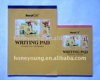 softcovert a4 writing pad for school
