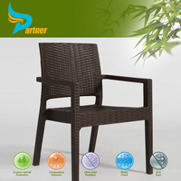 New Designed Cheap Plastic Rattan Like Outdoor Chair Patio Sets
