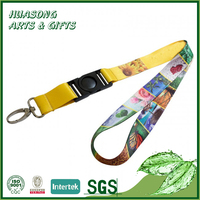 Cheap exhibition meeting dye sublimation lanyard