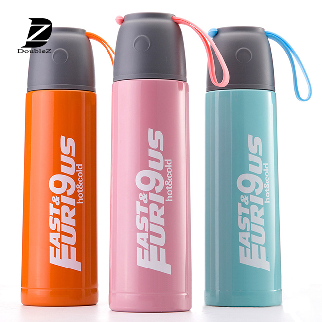 600ML Aluminum Drinking Water Bottle / Travel Sports Aluminum Bottle / Kids Water Bottle