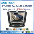 ZESTECH car DVD for Honda Accord 8inch car radio gps steering wheel control dvbt