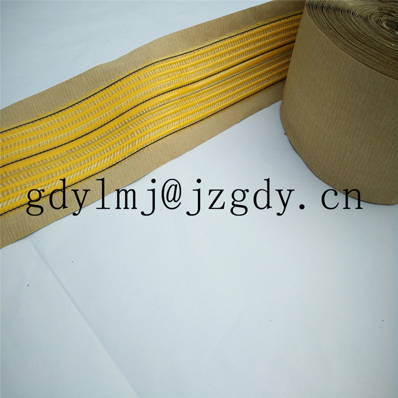 Factory direct crincle paper carpet seam tape