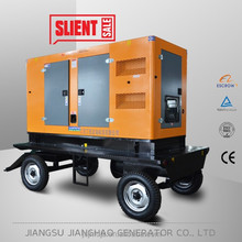 400kw daewoo mobile and silent electric generator set 500kva trailer electric generator
