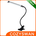 aluminum durable flexiabe electric LED Clip USB Desk Table Lamp