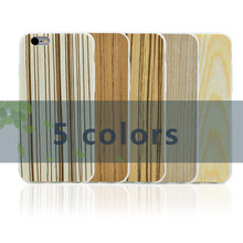 Wholesale Retro Simple Soft TPU&Real Wooden Moblie Phone Back Case Cover For Iphone 6 6S 6 6S Plus 7 7 Plus