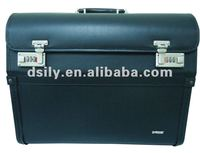 Business PVC pilot flight case / rolling luggage for airline pilot case