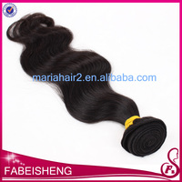Body wave natural color black skin weft hair weaving European virgin human hair