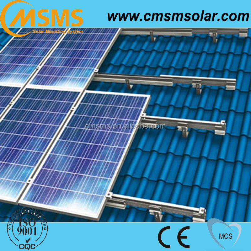 Metal roof and Tin roof solar mounting structure for solar panel mounting bracket
