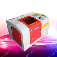 home business small machinery mini 40w co2 laser car number plate making machine 3040