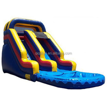 giant inflatable water slide for adults funny on water world