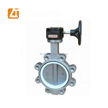 16 inch long stem pneumatic operated full lug butterfly valve