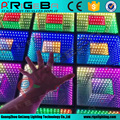 Full color led light club 3d dance floor stage floor/made in china