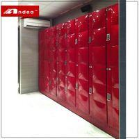 Factory Wholesale stainless steel locker student cabinet locker athlete locker in school gym with new APP mobile locks