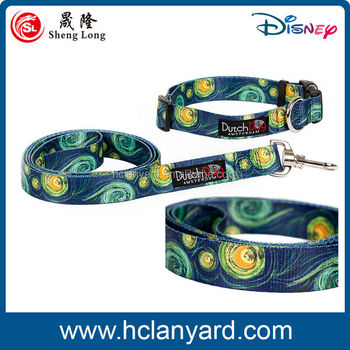 Customized fashionable colloar and dog leash