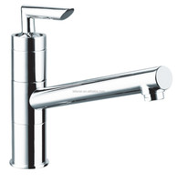 New Brass Bathroom Faucet One Hole/Handle Basin Sink Tap Chrome