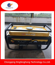Hot sale copper wire 3kva 4kva 4.5kva gasoline generator silent for house hold electric start