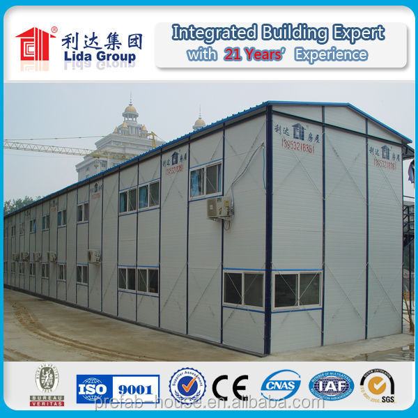 prefabricated house steel structural system