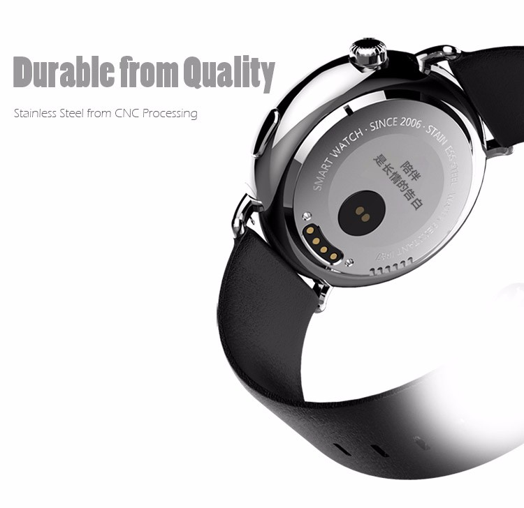 MTK2502 IOS Android smart watch full screen sport care pedometer calorie heart rate monitor Bluetooth watch