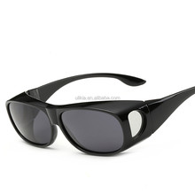 TAC Polarized Fit Over Sunglasses Wear Over Prescription Glasses for Men and Women