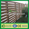 Garden Wood Plastic Composite WPC Fence Panels