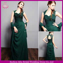 SD1861 high neck green evening dress petite mother of the bride dresses 2014