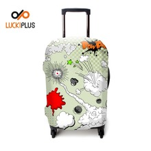 Luckiplus Protective First Class Luggage Cover Portable Elastic Trolley Case Cover