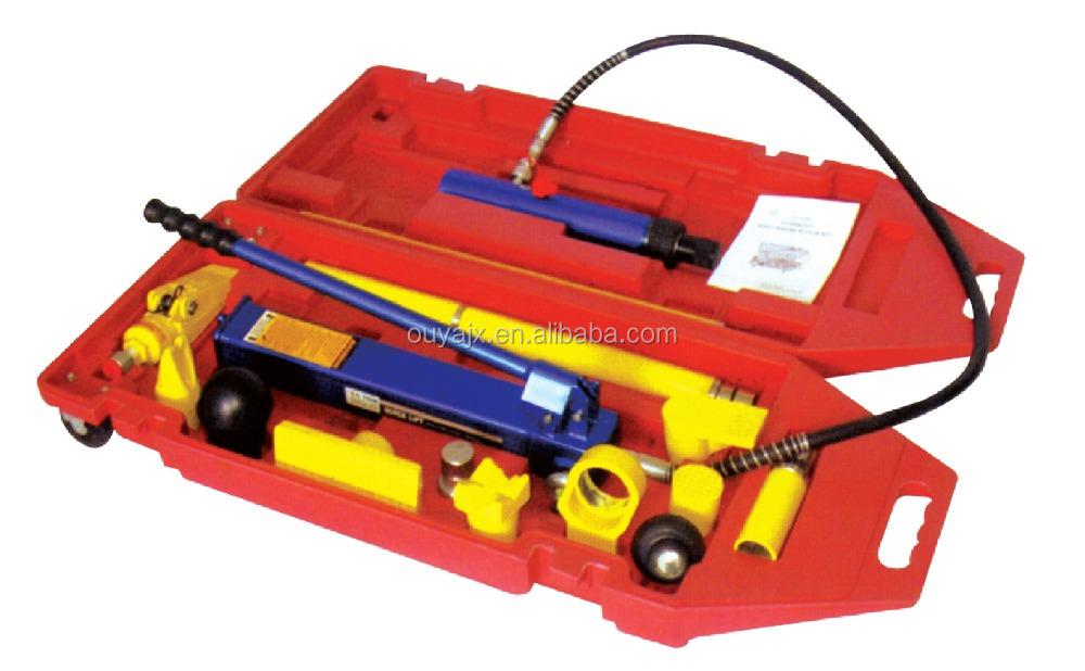 15T Porta power jack hydraulic auto body repairing kit