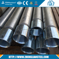 Manufacturer directly supply High Grade galvanized steel pipe price with competitive price