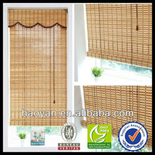 2013 new design bamboo curtain fabric and luxury curtain for window curtain models