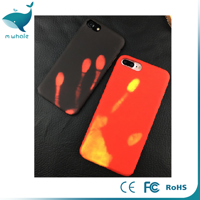 New Products Cell Phone Mobile temperature sensing Luminous New Cases For iPhone 6s And 6s Plus, Best Price Phone Case For iPhon
