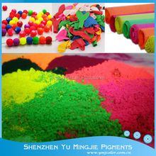 12 Colors Available Water Based Fluorescent Pigments