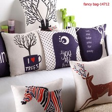 1pcs Square Fashion Cotton Throw Sofa Decorative Pillow Case