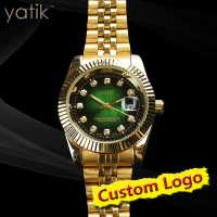 Men green dial roles watches original design datejust model chronometer watch cheap price