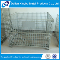 new arrival wire mesh pallet storage container