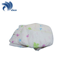 High quality disposable baby diaper made by advanced baby diaper machine
