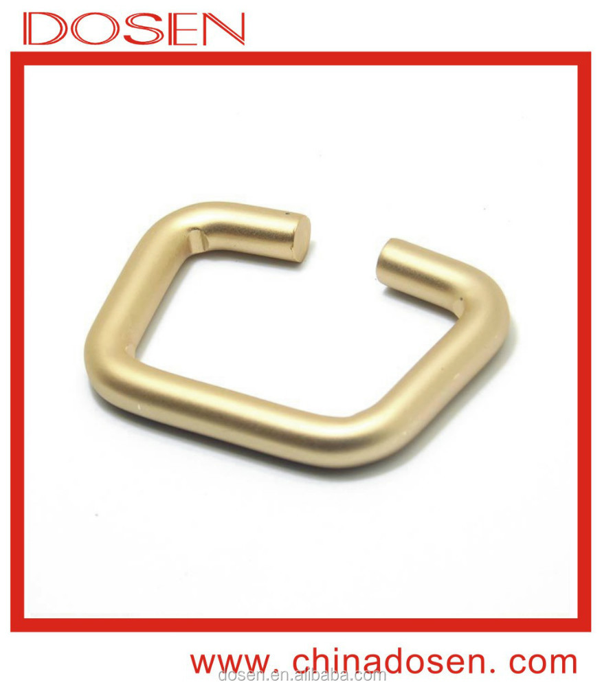 Wholesale durable effect open hole gold metal belt buckle for decorating