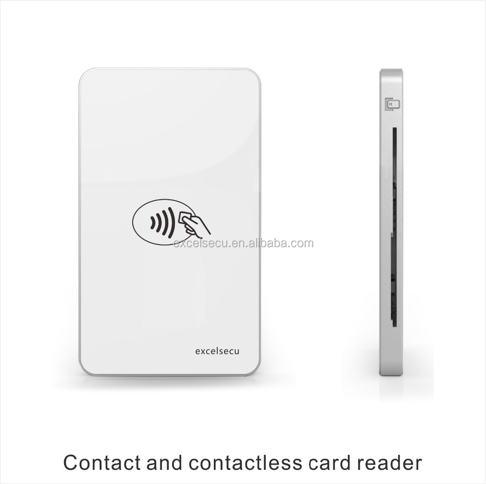 China Cheapest Fingerprint Recognition Writer Machine Bluetooth Credit RFID Card Reader