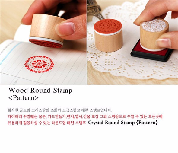 The hot selling wood handle wood rubber stamp