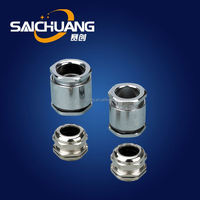 nickel-plated brass cable gland single compression type cable gland