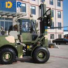 forklift specification 5 ton rough terrain forklift with 3m lifting height