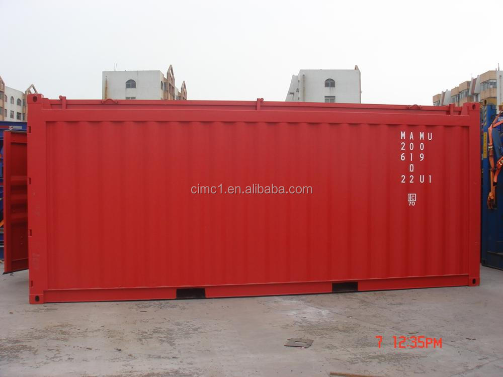 new 20ft hard open top shipping container