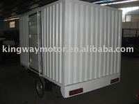 Box Three Wheel Motorcycle for Food transport,New Hospital Ambulance Three Wheel Motorcycle