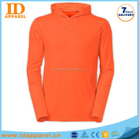 one piece pull over hoody , cotton polyester hoody design