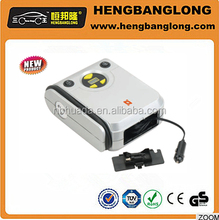 White color easy take new design digital display car air compressor,car tyre inflator
