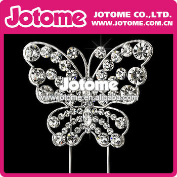 Wholesale Cheap Wedding Butterfly Cake Topper