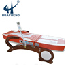 electric thermal jade roller heating therapeutic massage bed