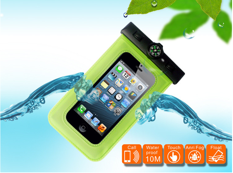New cheap pvc phone waterproof case/cell phone waterproof dry bag/floating waterproof phone bag