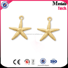 New product hot sale metal die casting gold pendant david star
