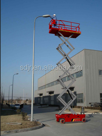 Customized self-propelled electric lifting paltform with cheap price