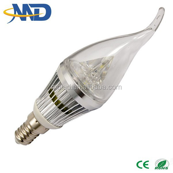 china supplier High Quality 3W E14 Led Candle Light/Led Candle Lamp 3 years warranty 3w candle light led Hot sell super br
